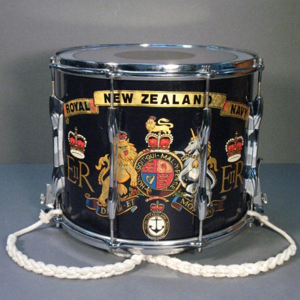 Royal New Zealand Navy Band Drum 2009.160.1.1