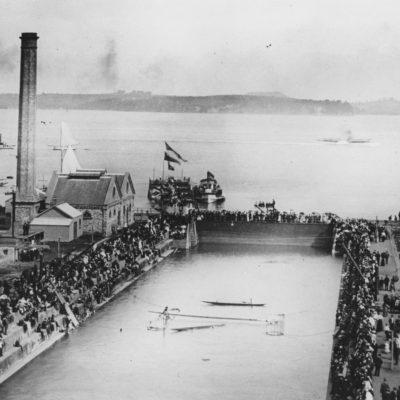 Opening of Calliope Dock 1888