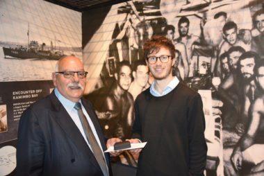 Museum scholarship recipient