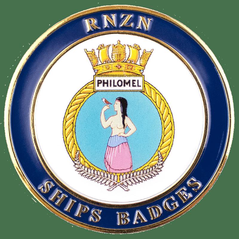 HMNZS Philomel Challenge Coin