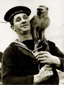 HMS New Zealand Mascot