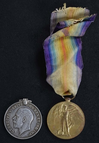 JP Stewart medals