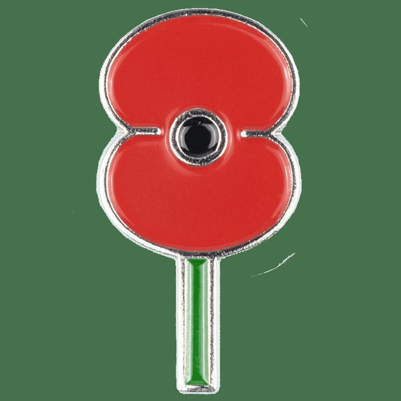 Lapen Pin - RSA Poppy