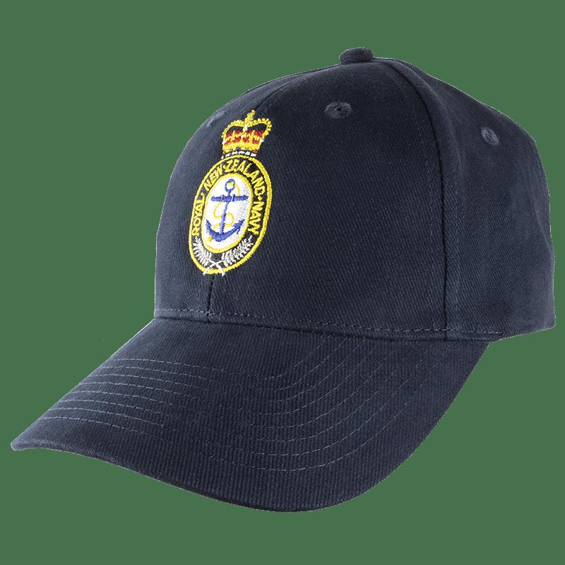 Navy Crest Cap - Coloured