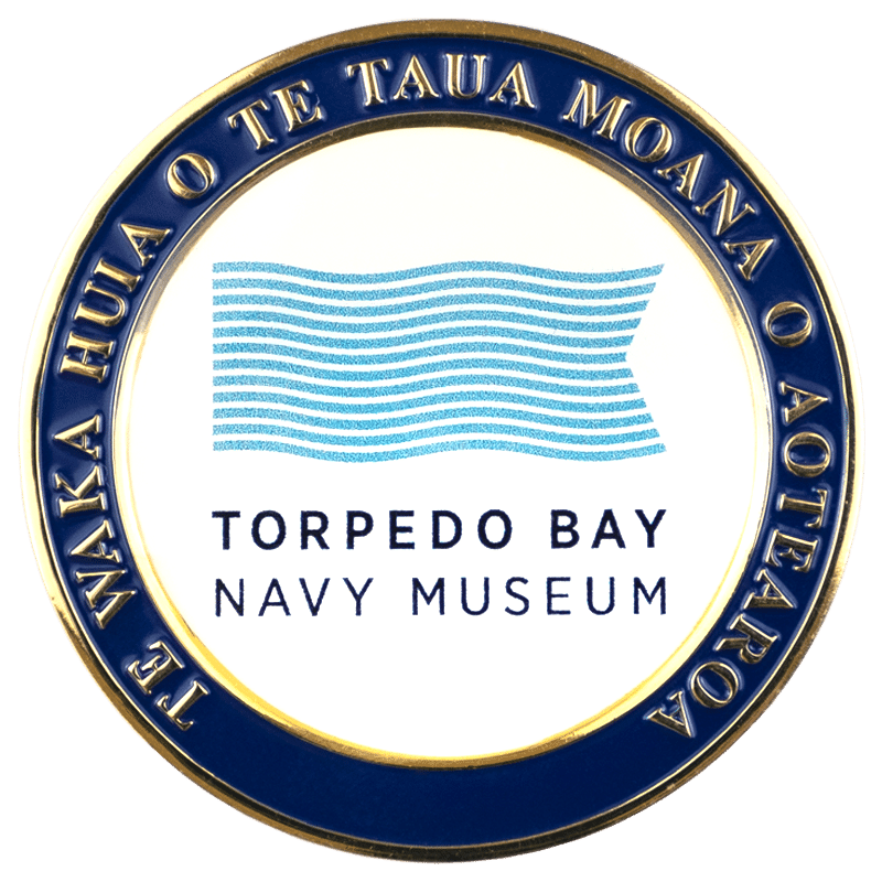 Navy Museum Challenge Coin - Front