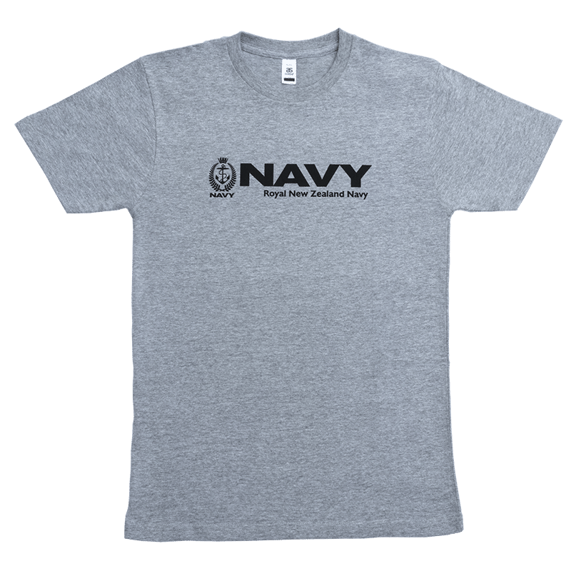 Navy T-Shirt - Grey