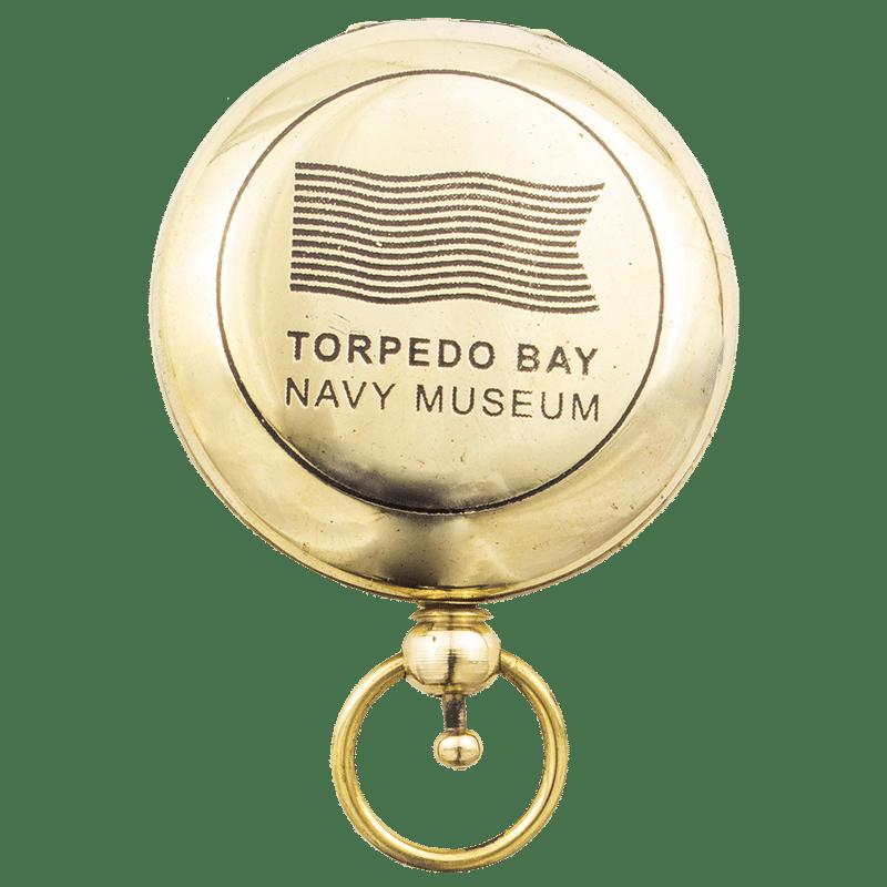 Torpedo Bay Navy Museum Compass - Closed