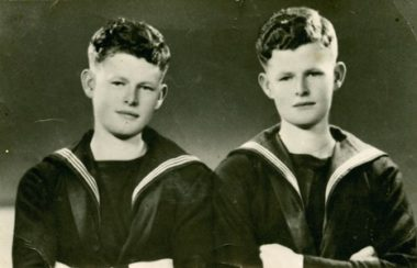 Bruce and William Anderson (RNZN Museum AAJ 0002)