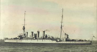 HMS Chatham [RNZN Museum]