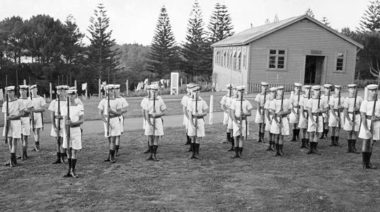 HMNZS Tamaki Seaman Boys Class No. 31 1945 [RNZN Museum ABZ 0194]